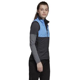 adidas TERREX Xperior Veste Femme, real blue/carbon